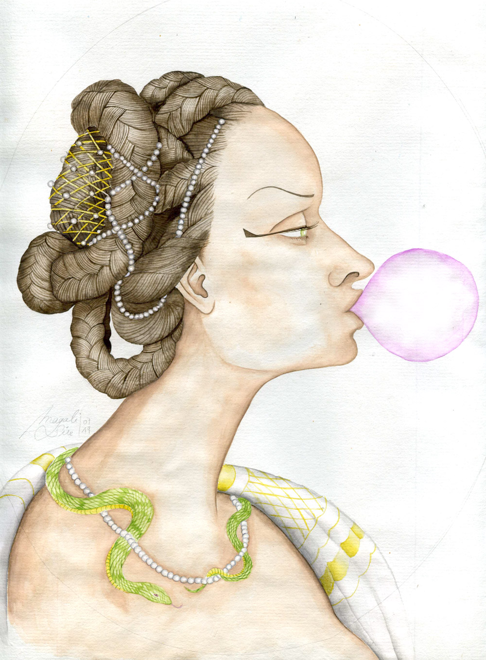 Cléopâtre et son malabar