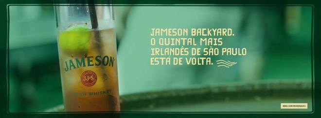 jameson irish whiskey apresenta