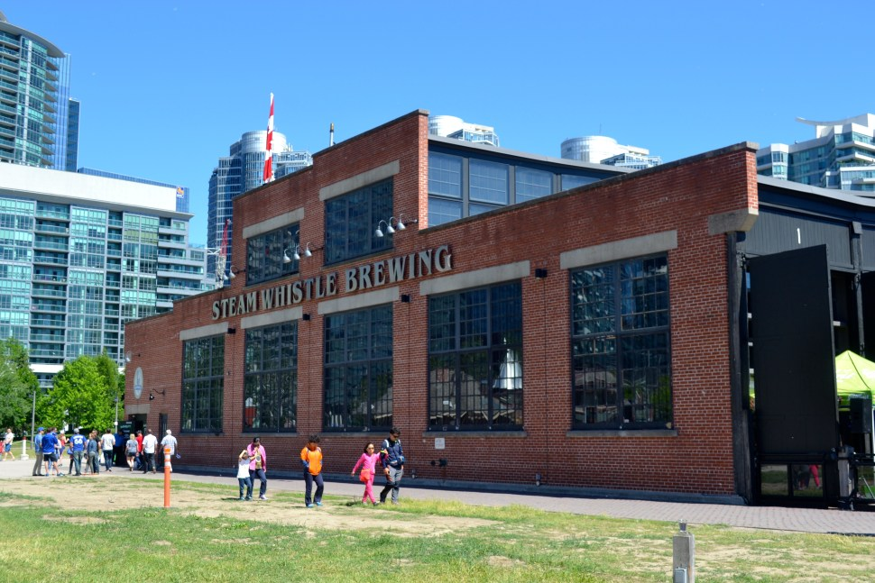 steam whistle roundhouse