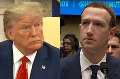 Facebook Deletes Trump Post for First Time, Cites Virus 'Misinformation'