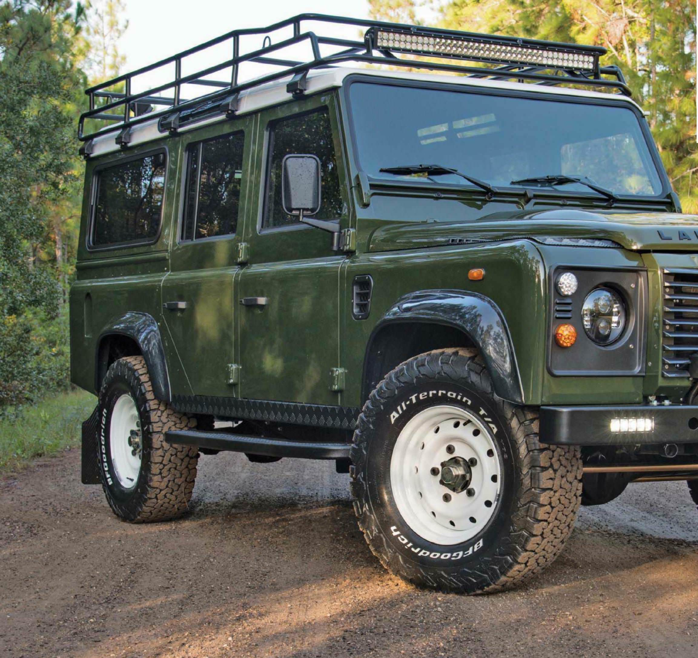 East Coast Defender New Flair Classic Style