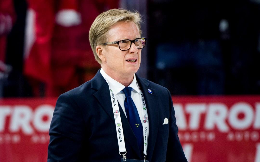 Boustedt slutar som generalsekreterare i Svenska Ishockeyförbundet