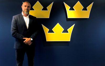 Johan Stark ny Generalsekreterare på Svenska Ishockeyförbundet