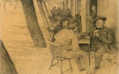Engebret Café i Kristiania
