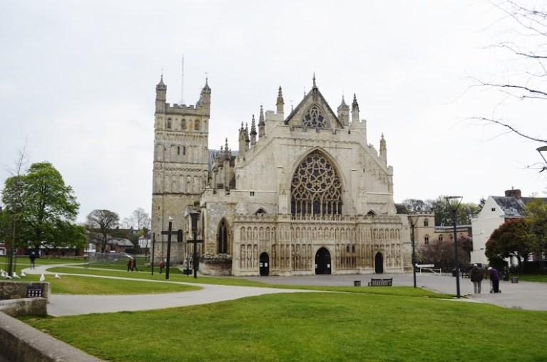 De gotische pracht en praal van Exeter Cathedral