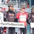 56. Cumhurbaşkanlığı Bisiklet Turu'nda sembol slogan podyuma taşındı
