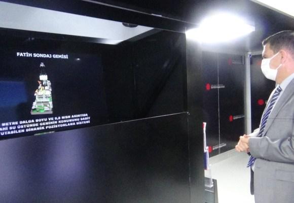 Mobil İletişim Tırı Vali Arslantaş'ın ziyareti ile açıldı