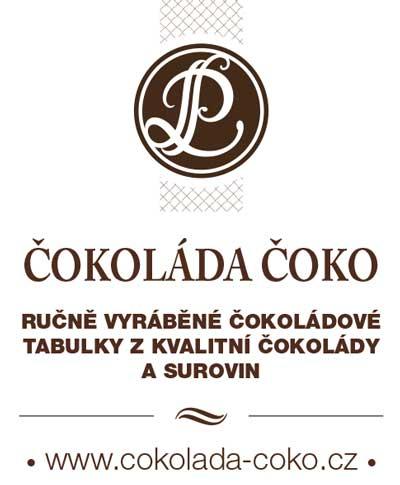 Čokoláda Čoko, kvalitní ručně vyráběné čokoládové tabulky