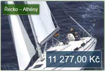 Řecko dovolená na jachtě s kapitánem