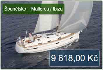 Mallorca dovolená na jachtě