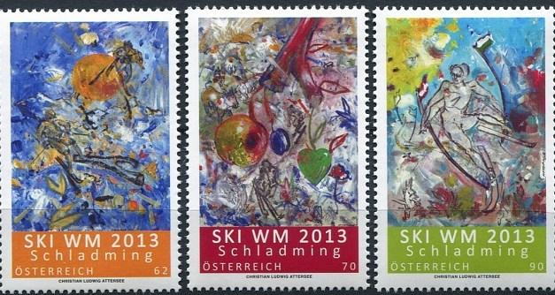 Novinky 2013: poštovní známky Rakouska – leden