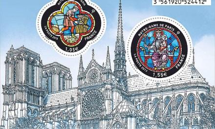 Novinky 2013: poštovní známky Francie – leden