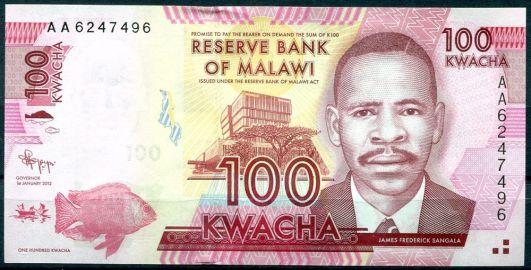 100 kwach