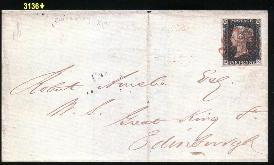 Pol. 3136 - dopis do Edinburghu.