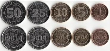 Zimbabwské varianty amerického dolaru