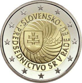Slovenské pamětní euro mince