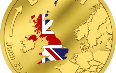 Pamětní mince Cookových ostrovů k příležitosti Brexitu