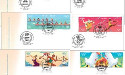 Spojené národy vydávají sérii známek Sportem za mír