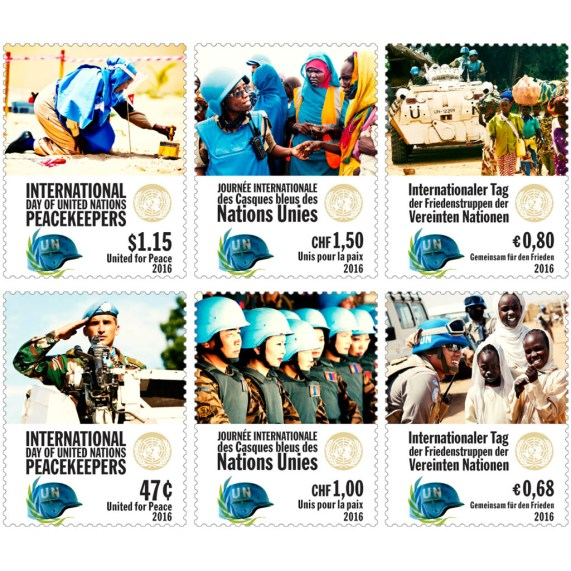 Aršík k Mezinárodnímu dni mírových sil OSN