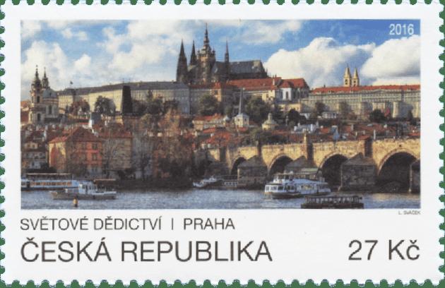Známky na námět světové dědictví: Emise České pošty a OSN