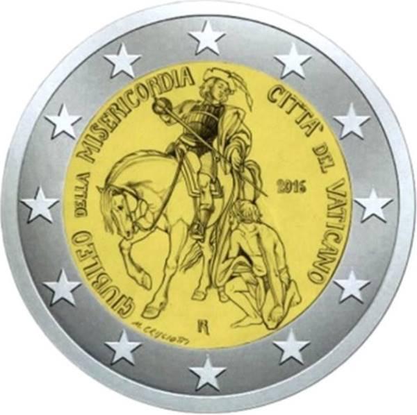 Nové vatikánské mince k Roku Božího milosrdenství
