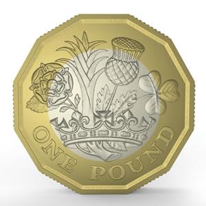 Nová britská libra