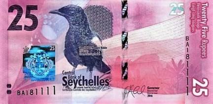 Nové seychelské bankovky