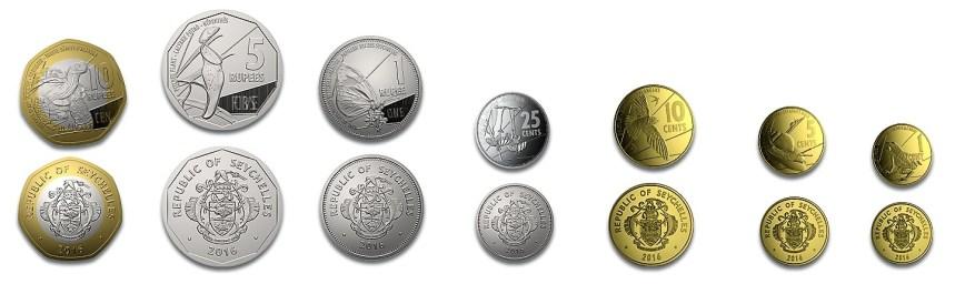 Nové seychelské mince