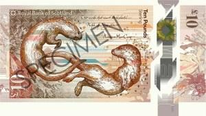 Nové skotské bankovky