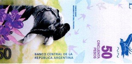 Nové argentinské bankovky s motivy zvířat