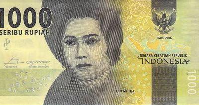 Nové indonéské bankovky s portréty národních hrdinů