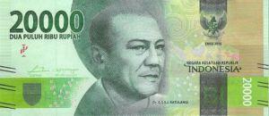 Nové indonéské bankovky