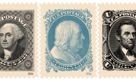 Americké známky bez nominální hodnoty