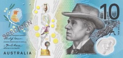 Nové australské bankovky