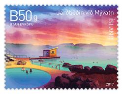 Nové islandské známky v dubnu 2017