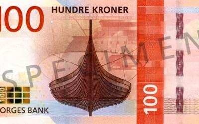 Nové norské bankovky vzdávají hold oceánu