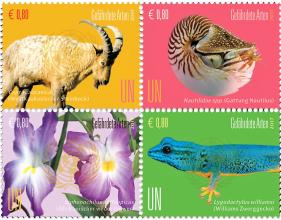 Nové známky OSN