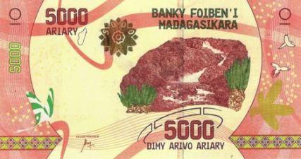 Nové bankovky Madagaskaru