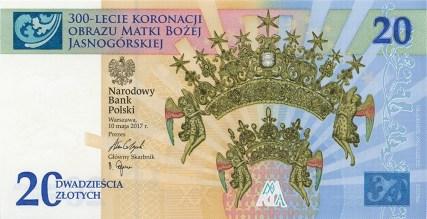 Nové polské bankovky 20 złotych