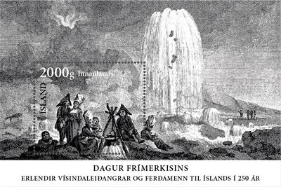 Nové islandské známky na náměty přírody a historie