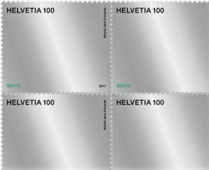 Nové švýcarské známky na námět dopis vs. e-mail