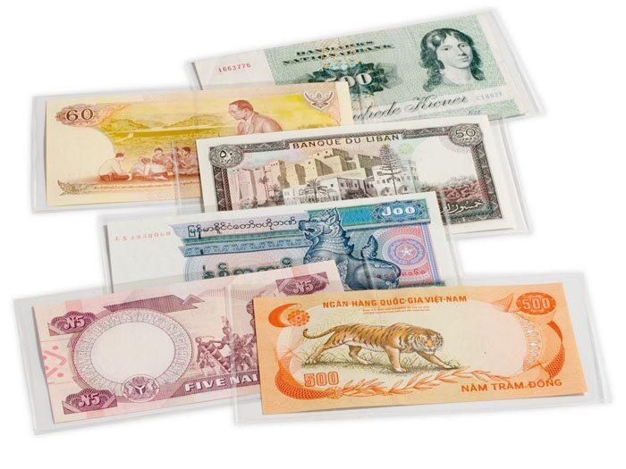 Folie na bankovky - balení 200 ks. Koupíte na www.TGW.cz
