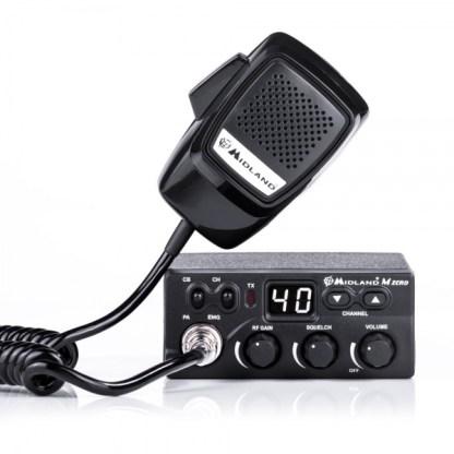 Alan / MIDLAND M-ZERO PLUS - Радиостанция Си-Би (CB) 27 МГц автомобильная