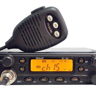 MegaJet MJ-650 - Рация Си-Би (CB) 27 МГц автомобильная