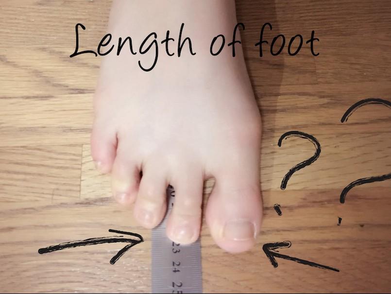 6割の人が足のサイズを間違ってる?!本当の足サイズを知る、一番簡単な方法。