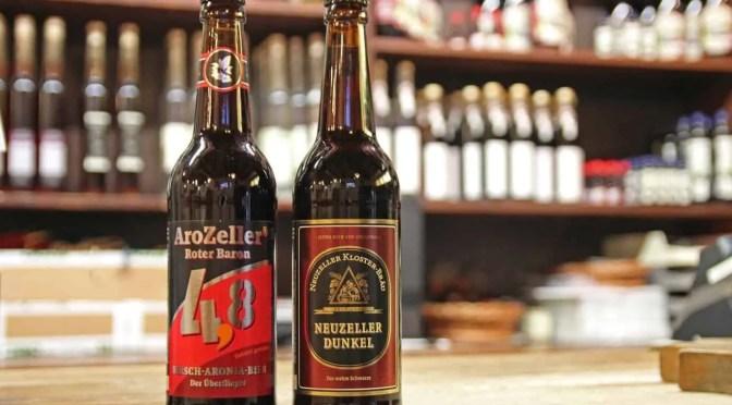 Neuzeller Dunkel und Kirsch-Aronia-Bier werden erstmalig auf der Internationalen Grünen Woche vorgestellt