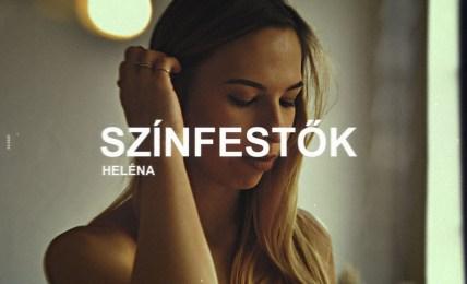 Heléna - Színfestők