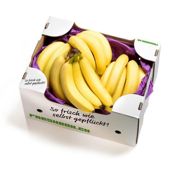 Bananenbox Freshbox Früchtebox