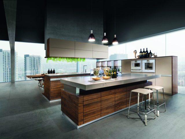 Arbeitsplatte mit Theke, Bar oder als Tisch: Schöne Ideen und Bilder für  U-Form Küchen - Küchenfinder
