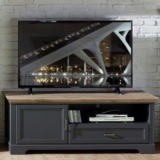 wohnwand-mit-tv-lowboard-und-vitrine-inkl-led-juelich-36-landhaus-stil-dekor-graphit-und-artisan-eiche-nb-b-h-t-354x204x51cm~4